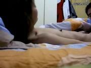 คลิปหลุดนักเรียนเกาหลี ถูกแฟนตั้งกล้องแล้วอ้อนจะเย็ดให้ได้ครางดีเด็ด KR