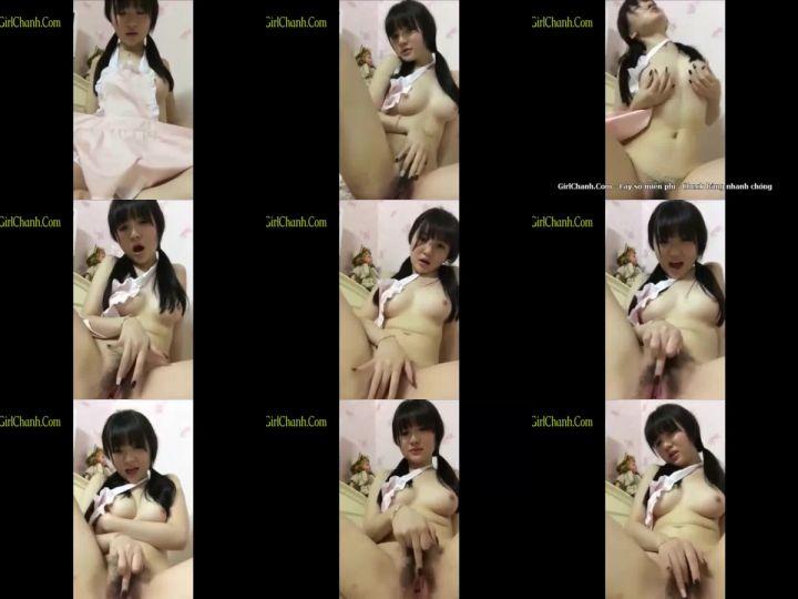 Clip webcam นั้งแหย่จิ๋มที่รื้มกล่องหน้าตาดีสาวน้อยเกาหลีแบบนี้คนไทยชอบ