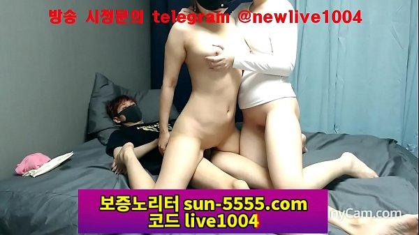 คลิปโป๊เกาหลีวัยรุ่นไลฟ์สด นัดเย็ด2สาวใส่หน้าสวิงกิ้ง 2หญิง1ชายแย่งกันขึ้นขย่มเย็ดโชว์Fc